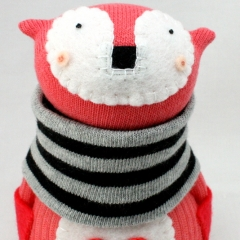 Sewinthemoment Sock Dolls Frankie the Fox