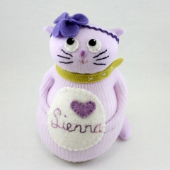 Sewinthemoment Sock Dolls Sienna the cat