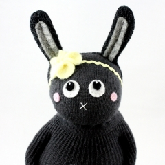 Sewinthemoment Sock Dolls Liberty the Bunny