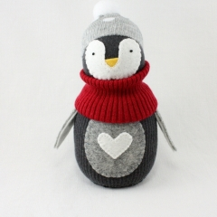 Sewinthemoment Sock Dolls Mikino the Penguin