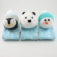 Sewinthemoment Sock Dolls Polar Arctic Friends Pram Buddies