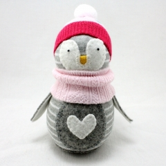 Sewinthemoment Sock Dolls Sweetie the Penguin