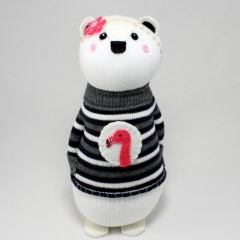 Sewinthemoment Sock Dolls Arabella the Polar Bear