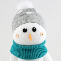 Sewinthemoment Sock Dolls snowman