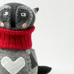 Sewinthemoment Sock Dolls Raccoon