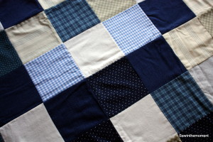 Corwin's Flannel Quilt Top