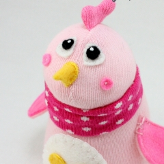 Sewinthemoment Sock Dolls Chick called Rosie
