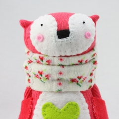 Sewinthemoment Sock Dolls Adelaide the Fox