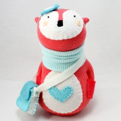 Sewinthemoment Sock Dolls Coral the fox