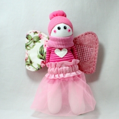 Sewinthemoment Sock Dolls Tooth Fairy Helper in Pink