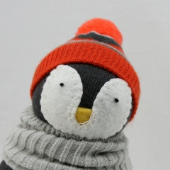 Sewinthemoment Sock Dolls Max the Peguin